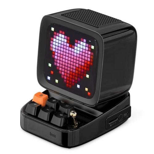 Divoom Ditoo Altoparlante Bluetooth portatile retrò Pixel Art Sveglia fai da te con tabellone a LED 16x16 Controllo APP Lettore di giochi retrò