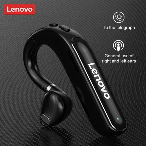 Lenovo TW16 BT5.0 Business-Headset Einzel-Ohrbügel-Kopfhörer mit Geräuschunterdrückung für Geschäft/Arbeit/Fahren/Büro