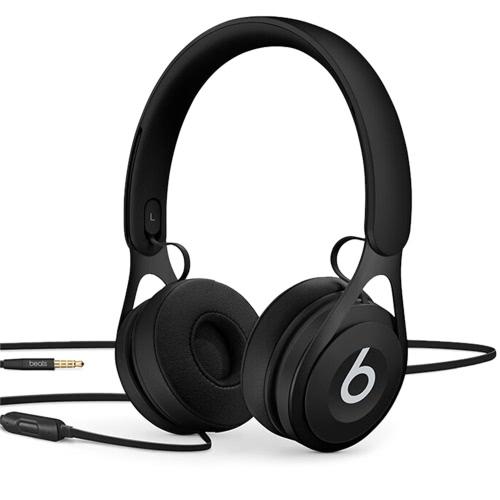 Beats EP 3.5mm Fones De Ouvido Com Fio No Fone de Ouvido Estéreo Música Fone de Ouvido Enhanced Bass Controle de Linha com Microfone Isolamento de Ruído Preto