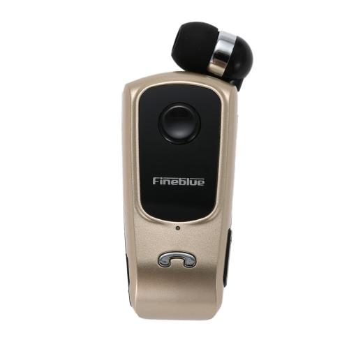 Fineblue F920 mains-libres Bluetooth stéréo écouteurs Vibreur casque d'or
