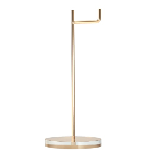 Universal Headphone Stand Acrylic Base Earphone Holder Professional display rack Headset Hanger Bracket Gold for Home Exhibition Center Store Use