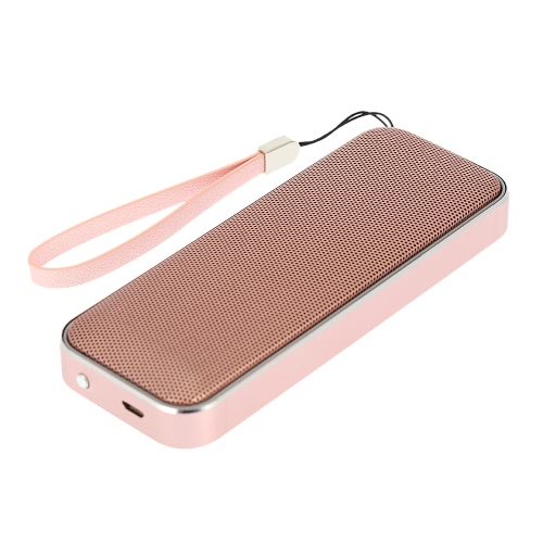 AEC BT202 Wireless Bluetooth 4.1 Speaker Pocket-Sized Outdoor Stereo Speaker Super Bass Hands-free Calling Rose Gold for iPhone 6S Plus Samsung S7 Note 5 iPad Other Bluetooth-enabled Audio Devices