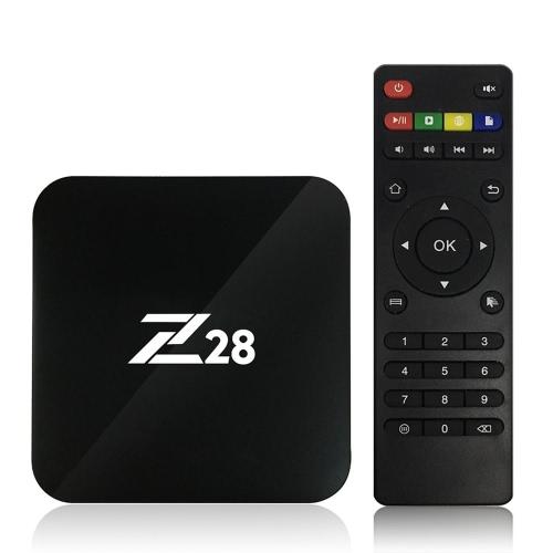 Z28 Boîte de télévision Android 7.1 TV KODI 16.1 RK3328 2G + 16G EU Plug