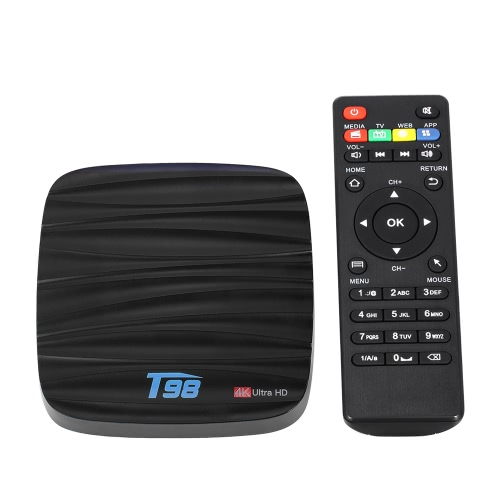 T98 Android 7.1 TV Box RK3328 2 Go / 16 Go EU Plug