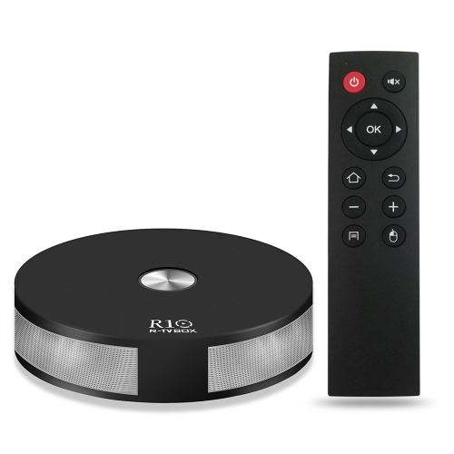 R10 Android 7.1 TV Box RK3328 2 Go / 16 Go Plug UE Noir