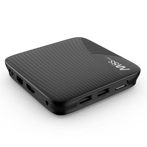 MECOOL M8S PRO L ATV Smart-Android-TV 7.1 TV-Box mit 2,4G BT-Voice-IR-Fernbedienung Amlogic S912 Octa-Core 64-Bit-3-GB / 32-GB-Dualband-WLAN-BT4.1-HD-Media-Player EU-Stecker
