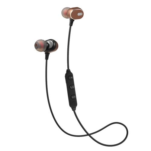 BT 4.2 + EDR In-Ear-Sportkopfhörer mit Mikrofon