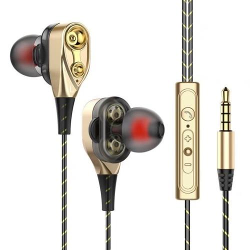 3,5 mm Geräuschisolation Sport In-Ear-Kopfhörer