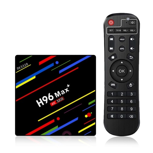 H96 Max+ Android 8.1 TV Box Media Player 4GB-32GB KODI 18.0