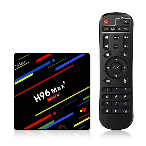 H96 Max+ Android 8.1 TV Box  Media Player 4GB / 64GB KODI 18.0