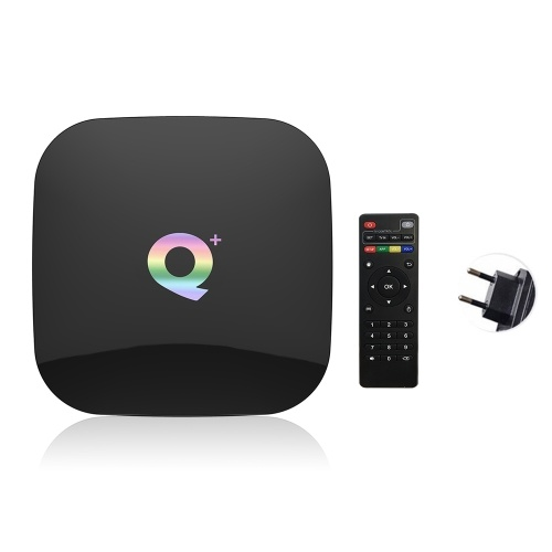 Q Plus Smart TV Box Android 9.0 Allwinner H6 2 GB / 16 GB 6 K H.265 Media Player USB3.0 2.4 G WiFi Set-Top-Box PK S905X2 T95Q X96 max
