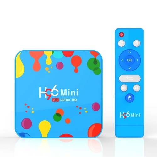 Android 9.0 Smart TV Box H96 Mini Allwinner H6 Quad Core 4GB RAM 128GB ROM 4K Media Player