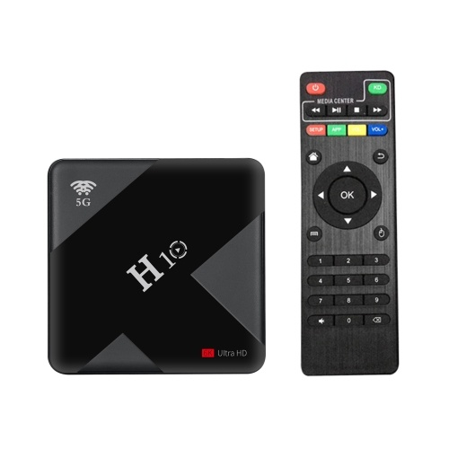 H10 Android 9.0 Smart-TV-Box 4K Media Player 64 GB