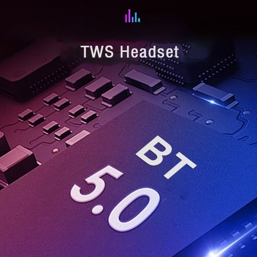 T1 TWS Headphones Touch-controlled Wireless Stereo Earphones Sports Earbuds with Mic Charging Box