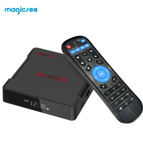 Magicsee N5 NOVA Smart Android 9.0 TV-Box 2 GB / 16 GB