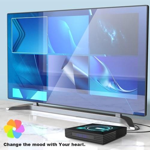 A95X F3 Slim Smart TV Box Android 9.0 8K Декодирование UHD 4K 75fps Медиаплеер 4 ГБ / 64 ГБ фото