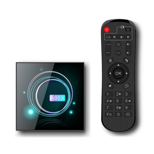 Lecteur A95X F3 Slim Smart Box Android 9.0 8K avec décodage UHD 4K 75fps Media Player 4 Go / 64 Go