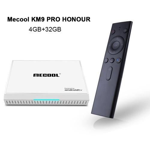 Mecool KM9 PRO HONOUR Android 9.0 TV Box Amlogic S905X2 4GB / 32GB 2.4G & 5G WiFi &100M LAN HD Media Player
