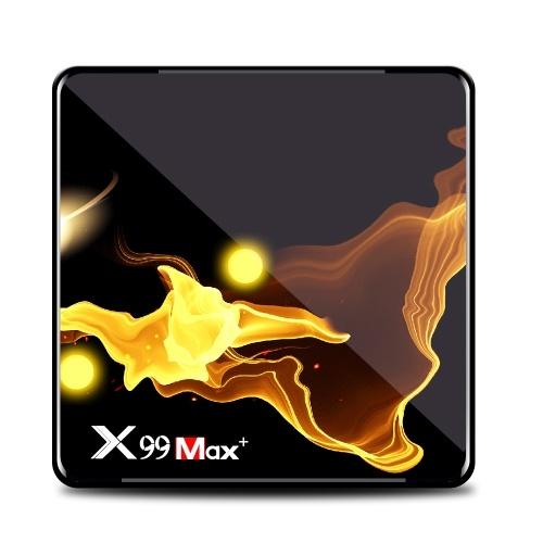 X99 MAX+ Smart Android 9.0 TV Box Amlogic S905X3 4GB / 128GB 2.4G & 5G WiFi USB3.0 BT4.1 H.264 H.265 Decoding Miracast HD Media Player
