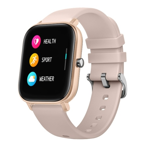 P8 Intelligent Watch 1.4 Inch Color Touch Screen Heart Rate Monitoring IPX7 Waterproof Fitness Bracelet (Gold)