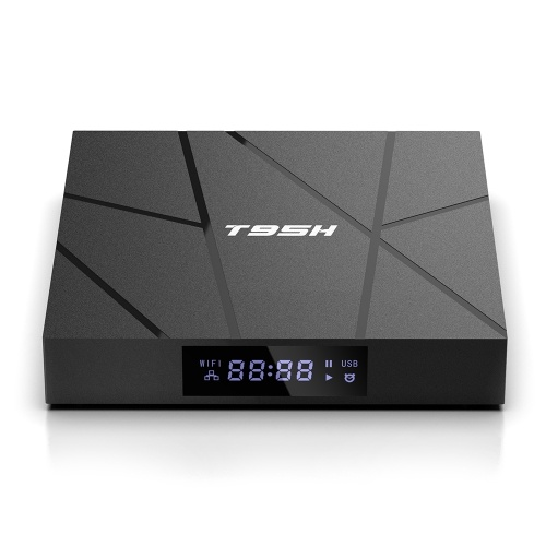 T95H Android 10.0 Smart-TV-Box Allwinner H616 Quad-Core 64-Bit 2 + 16 GB 6K Media Player LCD-Display