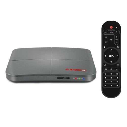 AX95 Smart TV Box Android 9.0 Amlogic S905X3-B Quad Core 4GB RAM 32GB / 64G / 128G ROM TV Set Top Box 2.4G / 5G Dual Band WiFi Media Player Suporte Dolby Audio BD MV BD ISO