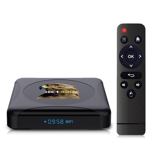 HK1 RBOX R1 mini Smart TV Box Android 10.0 UHD 4K Media Player RK3318 2GB/16GB 2.4G / 5G Dual-band WiFi BT4.0 100M LAN Digital Display with Remote Control