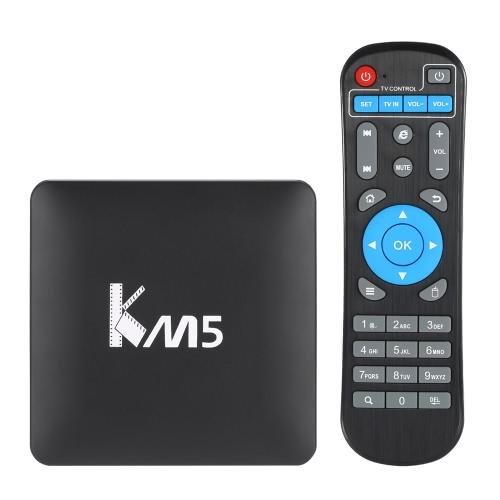 KM5 Android 6.0  S905X  TV Box KODI 17.0  -1G+8G UK Plug