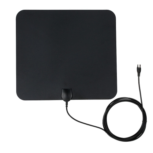 Flat HD TV Amplified Digital Indoor Antenna High Gain HDTV 50 Miles Gamme