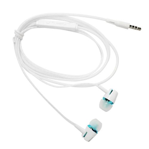 3.5mm Filaire Casque In-Ear Casque Stéréo Musique Smart Phone Écouteur Écouteur Parfum Fil Contrôle En Ligne Mains-libres avec Microphone