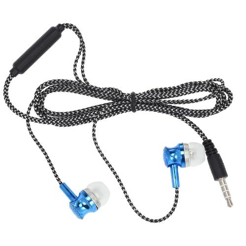 3.5mm fone de ouvido com fio fone de ouvido fone de ouvido estéreo música fone de ouvido fone de ouvido fone de ouvido mãos-livres com microfone