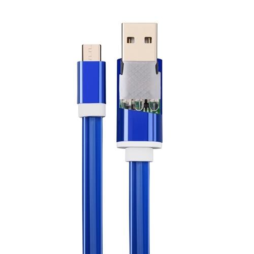 1m Typ-C-Kabel USB-C LED-Leuchten Ladekabel Typ C Kabel Plug and Play für Android-Handy Tablet-Grün