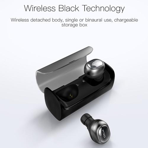 Q29 BT Fones De Ouvido Mini Fones De Ouvido Esporte Correndo Sem Fio Fones De Ouvido Com Cancelamento de Ruído 3D Fones de Ouvido Estéreo com Microfone e Caixa De Carregamento