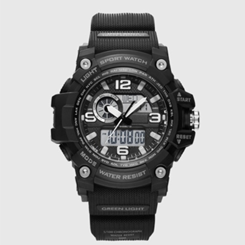Xiaomi TwentySeventeen Outdoor Dual Display Elektronische Uhr Zifferblatt Dual Time Display Kalender Countdown 50 Meter Wasserdichte Outdoor Sport Digitaluhr