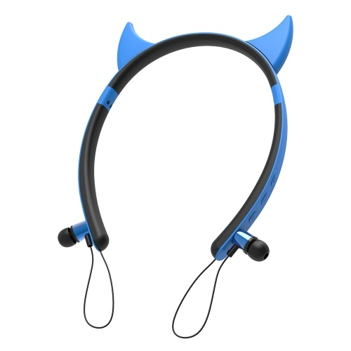 ZW-29 Cuffie senza fili Bluetooth 4.2 + EDR Auricolari per orecchie animali Auricolari in-ear magnetici per Smart Phone