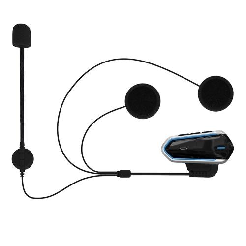 B35 Bluetooth 4.1 + EDR Motorrad Helm Headsets Wasserdicht Niedriger Verbrauch Drahtlose Kopfhörer Ohrhörer Unterstützung FM Radio