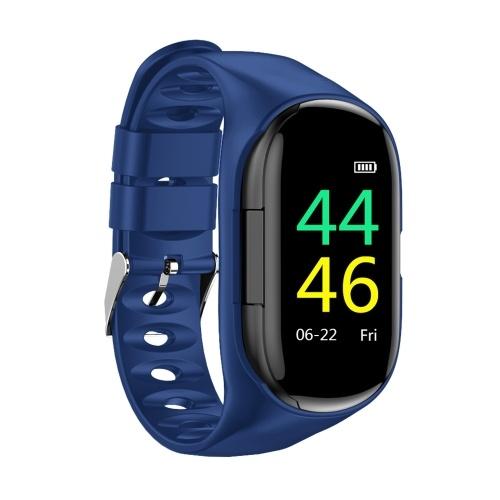 Умные часы 2-в-1 с фитнес-трекером для наушников TWS