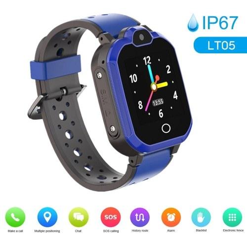 LT05 4G Intelligent Watch for Kids BT Video Call IP67 LBS Waterproof Anti-lost Children Smartwatch Support 11 Languages