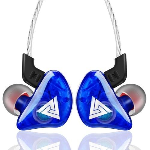 QKZ CK5 Headphones In-ear Wired Headset 3.5mm Jack Headphone Earhook for Smartphone MP3
