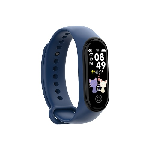 RD05 Smart Watch Bluetooth Sports Bracelet IP67 Heart Rate Sleep Blood Pressure Monitoring APP Control for Outdoor Sports Multi-sport Modes