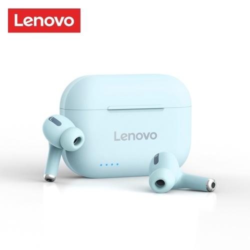 Auriculares inalámbricos Lenovo LP1S True BT 5.0 Auriculares deportivos con control táctil IPX4 a prueba de sudor