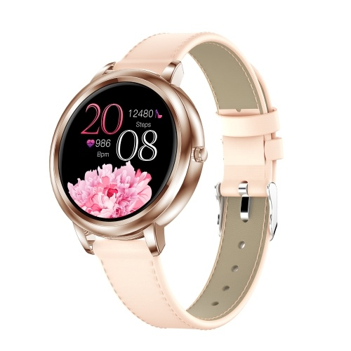 Women Smart Watch Fitness Tracker Bluetooth Bracelet Smart Sports Band Heart Rate Blood Pressure Sleeping Monitor Wristband Touch Screen IP67 Waterproof Information Reminder