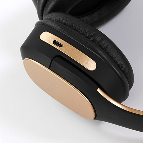 MH3 Head-mounted BT5.0 Wireless Headset with Microphone HiFi Stereo Sound Button Operation