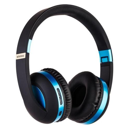 MH4 Head-Mounted BT5.0 Wireless Headset mit Mikrofon HiFi Stereo Sound Button Bedienung FM-Funktion