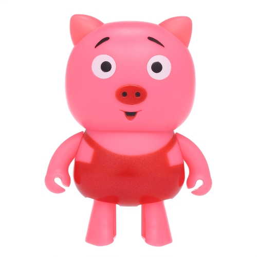 Mini Smart Robot Pig Wireless BT Speakers Стерео звуковая коробка Hands-free W / Mic Dancing Robot Speaker для детей Cute Children Gift Toy