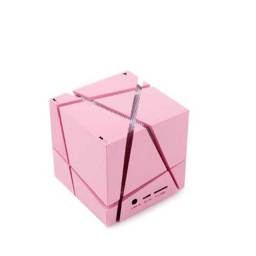 Haut-parleur Bluetooth de forme unique cube de Rubik