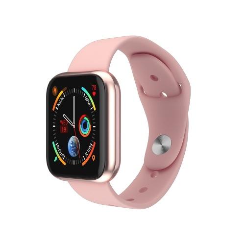 K6 Intelligent Watch Fashion Heart Rate Blood Pressure Monitoring BT Sports Watch 1.3in Display Screen IP67 Waterproof Fitness Tracker
