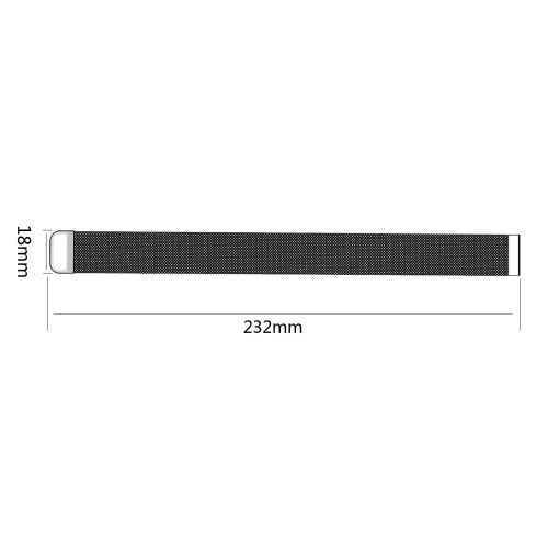Watch Strap for MI Watch Unisex Stainless Steel Mesh Wristband Wrist Strap Multiple colors Optional