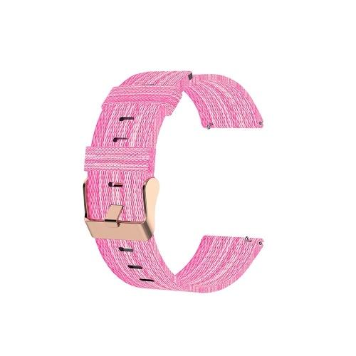 Correa de reloj para MI Watch Unisex Canvas Nylon Wristband Correa de muñeca Múltiples colores opcionales