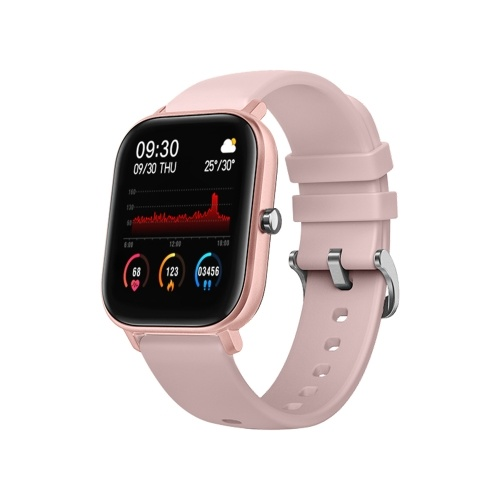 P8 Smart Watch Bluetooth Sports Bracelet Heart Rate Sleep Blood Pressure Monitoring APP Control for Outdoor Sports Multi-sport Modes